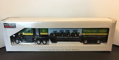 SpecCast Limited Edition John Deere 8000 & 8000T Ford  AeroMax Tractor Trailer