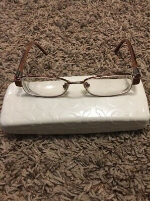 Coach Emblem Frame Prescription Glasses With Case