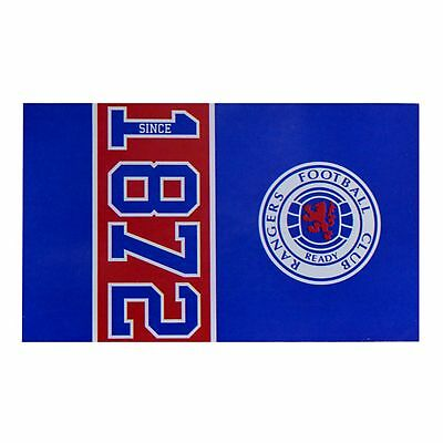 Rangers FC Official Since 1872 Design Football Supporters Flag