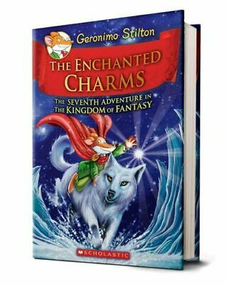 NEW The Enchanted Charms By Geronimo Stilton Hardcover Free Shipping