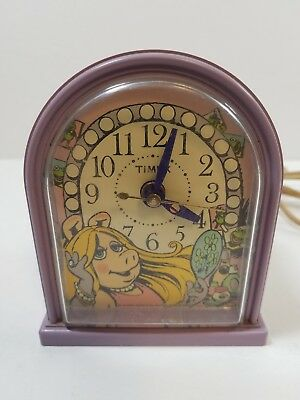 The Muppet Show Miss Piggy Alarm Clock By Timex 1982 Works Jim Henson Muppets
