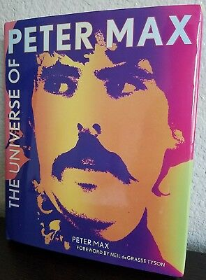 The Universe Of Peter Max Hc Book Signed. Autograph.