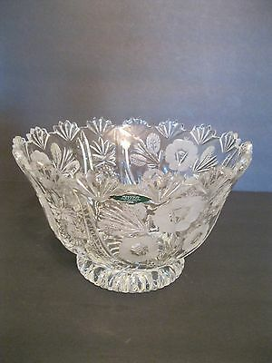 Beautiful Shannon Irish Cut Crystal Bowl