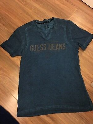 Guess boys T-Shirt size small mens fits boy size 12