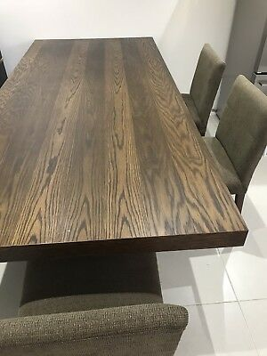 Hardwood Dining Table And 6 Chairs (Coco Republic)