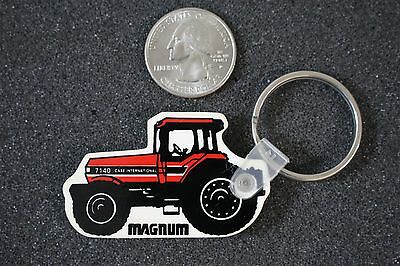 Case International Magnum Tractor Selby Quincy Illinois Keychain Key Ring #18187