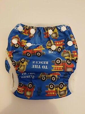 Reusable Cloth Swimming Nappies Snaps MCN Modern Designs