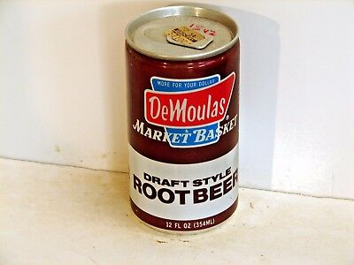 Demoulas Market Basket Root Beer; Cro-Pac; Worcester, MA; Soda pop can
