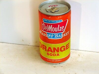 Demoulas Market Basket Orange Soda; Cro-Pac; Worcester, MA; Soda pop can