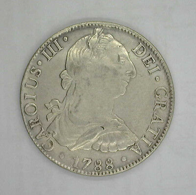 MEXICO 1788 Mo FM 8 REALES - CONTEMPOARY FORGERY