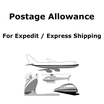 LONGWIN Postage Allowance for Expedit / Express Shipping
