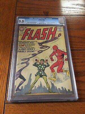 The Flash #138 CGC 5.5 1st Appearance Of Dexter Myles. Elongated Man,Pied Piper