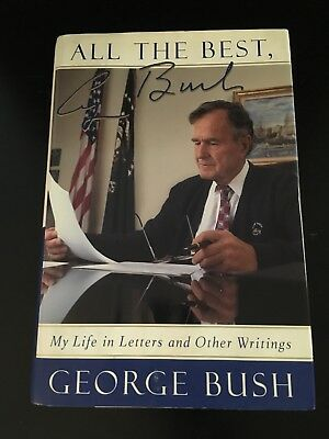 George H Bush Signed Book(plate)