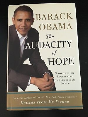 Barack Obama Signed Book