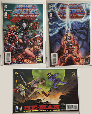 He-Man and Masters of the Universe #1 (Eternity War variant, Benes, Tan) 3 Comic