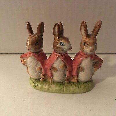 Beatrix Potter, Flopsy,Mopsy and Cottontail, Made in England