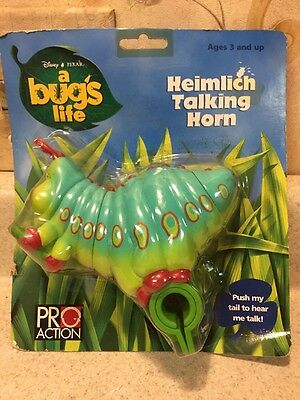 New Sealed Disney Pixar  A Bugs Life Heimlich Talking Horn