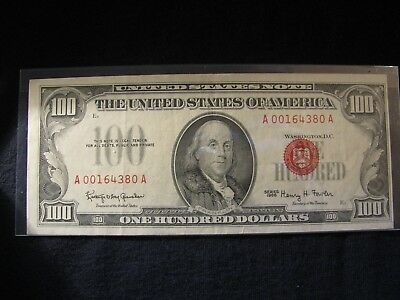 1966 $100 United States Note -  **x.f.++** Free Shipping!!