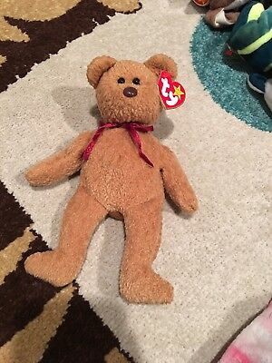 Ty Curly Rare Beanie Baby With Errors!