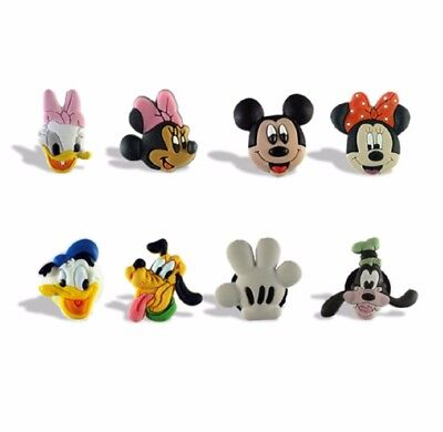 Disney's Mickey Mouse & Friends Set of 8 MINI Fridge Magnets