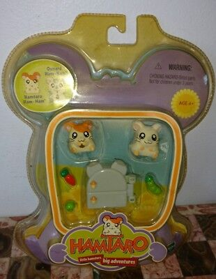 Hamtaro And Oxnard Ham-Ham Play Set, Hasbro, NIP