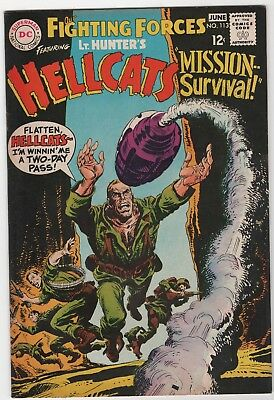 Our Fighting Forces # 113 In Very Fine+ 8.5 Condition (June. 1968, DC)