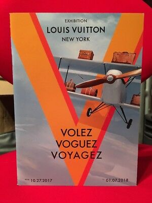 LV Louis Vuitton Volez Voguez Voyagez NYC 2017 Exhibition Catalog