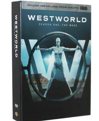 Westworld The Complete First Season (DVD, 2017, 3-Disc Set) Brand New Sealed