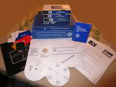 NYI Photography Course VHS tapes, cassettes, books & more! New York Institute