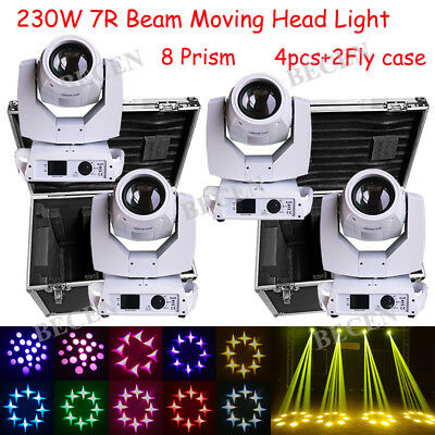 230W Sharp Beam Moving Head Light 16CH Touch Screen 8 Prism DJ Stage Lighting