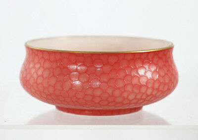"Rare Webb cameo ""Fishscale"" small bowl, late 19th c. [11450]"