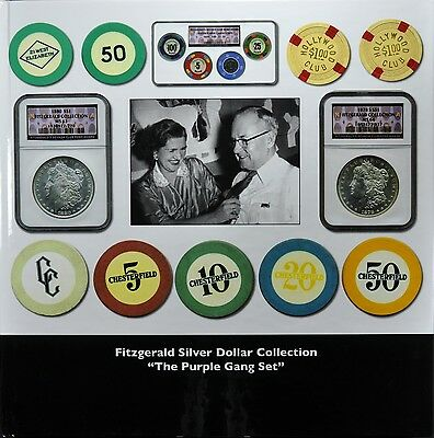"""Fitzgerald Silver Dollar Collection – The Purple Gang Set"""