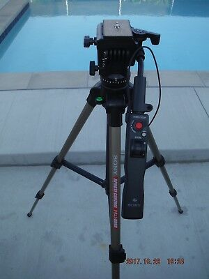 Sony VCT-870RM Full-Size Tripod with Integrated Remote Handle