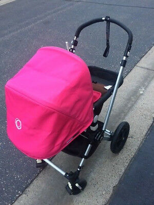 Bugaboo Cameleon PINK Stroller Baby accessories cup holder  rain cover & bug net