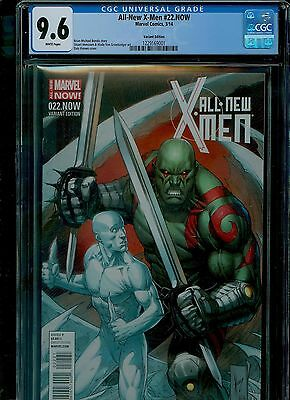 All-New X-Men 22 CGC 9.6 NM+ Drax Dale Keown variant cover Marvel 2014
