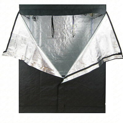 48x48x78in Grow Tent Reflective 600D Mylar Hydroponic Non Toxic Hut Indoor Room