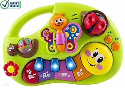 Toy Piano Keyboard Educational Gift Play Baby Child Toddler Animal Sound Music