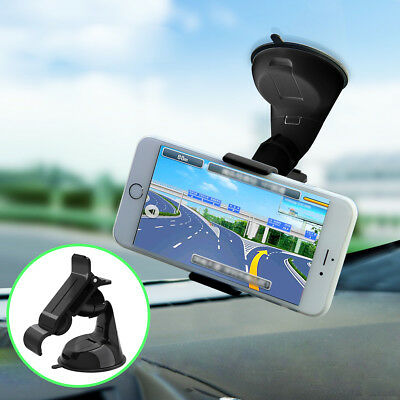 360° Car Holder Cradle Windshield Mount Bracket for GPS Mobile Cell Phone iPhone