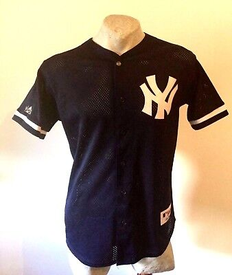Maglia new york yankees majestic NY AUTHENTIC COLLECTION jacke jacket BOTTOM