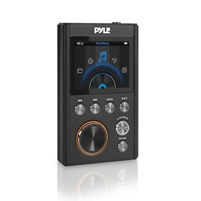 Pyle Hi-Res MP3 Player - Portable High Resolution Lossless Digital Audio Player