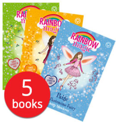 Rainbow Magic Christmas Specials Collection - 5 Books