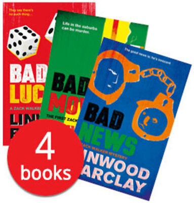 Linwood Barclay Collection - 4 Books
