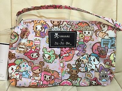 NWT-(other) JuJuBe Tokidoki Quick DONUTELLA SWEET SHOP DSS, HTF, BALLOONS,POODLE