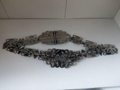 Silver plated Nurse's Belt early 20th century
