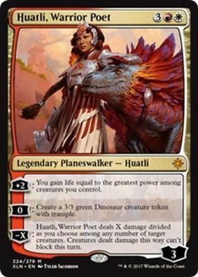 1x Huatli, Warrior Poet MINT Ixalan MTG Magic