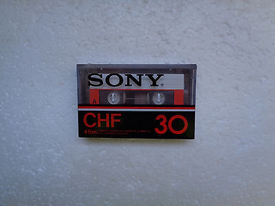 Vintage Audio Cassette SONY CHF 30 * Rare From Japan 1978 *