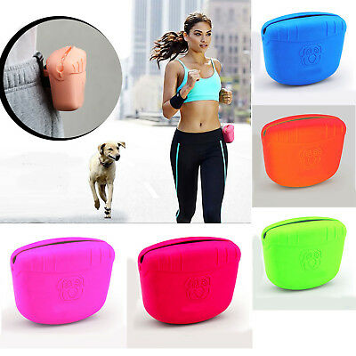 Silicone dog treat pouch dog training treat bag Feed Pouch