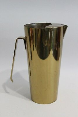 50er 60er Jahre Design Messing Krug Made in Italy Pitcher 50s 60s Brass Cocktail