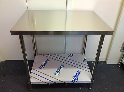 Brand New Stainless Steel Bench 1800x800x900 mm