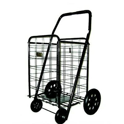 Extra Large Heavy Duty Shopping Carts Grocery Laundry Oversized Folding Cart